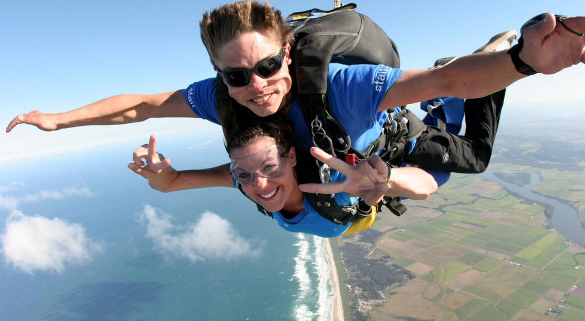 Skydive over Byron Bay - 15,000ft - Weekend