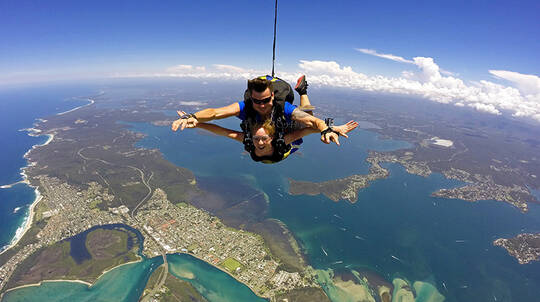 Tandem Skydive Over Newcastle - Up To 15,000ft