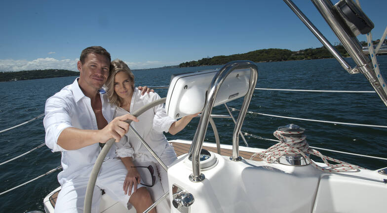 Sunset Sailing on a Luxury Yacht with Wine - For 2