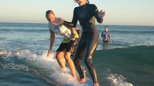 Weekend Surf Camp For Beginners