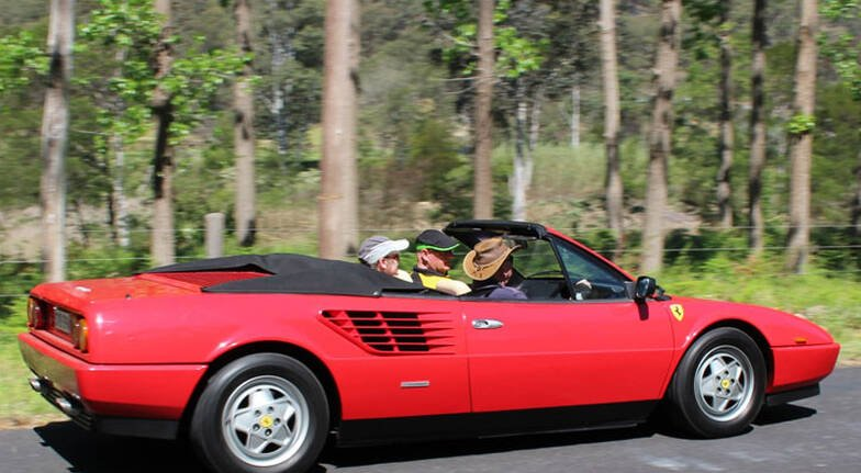2 Hour Ferrari Joy Ride - For up to 3