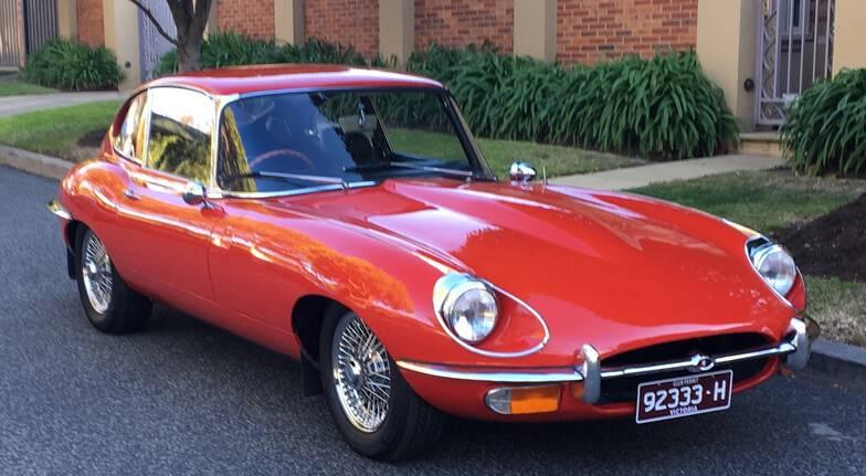 1970 E-Type Jaguar Full Day Hire - Melbourne