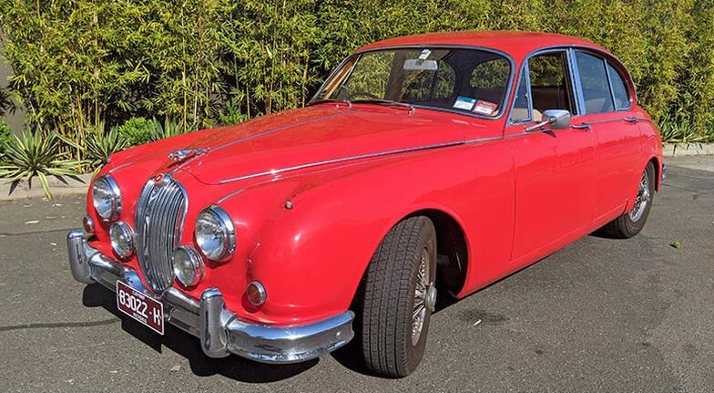 1962 Jaguar Mark II Full Day Car Hire