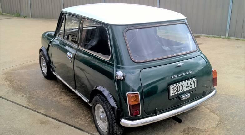 Classic Mini Cooper Full Day Car Hire