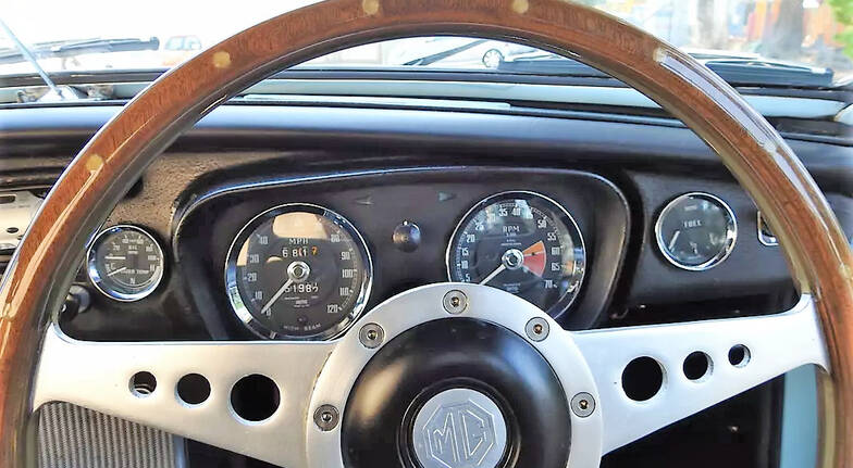 1968 MGB Roadster Automatic Full Day Hire - Sydney