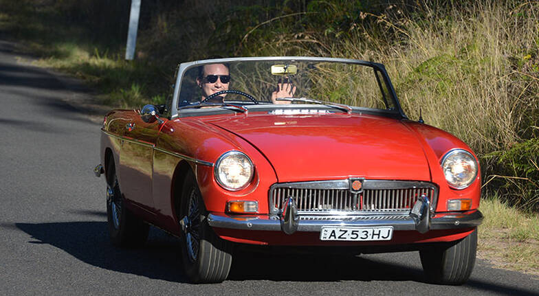 1964 MGB Roadster Full Day Car Hire