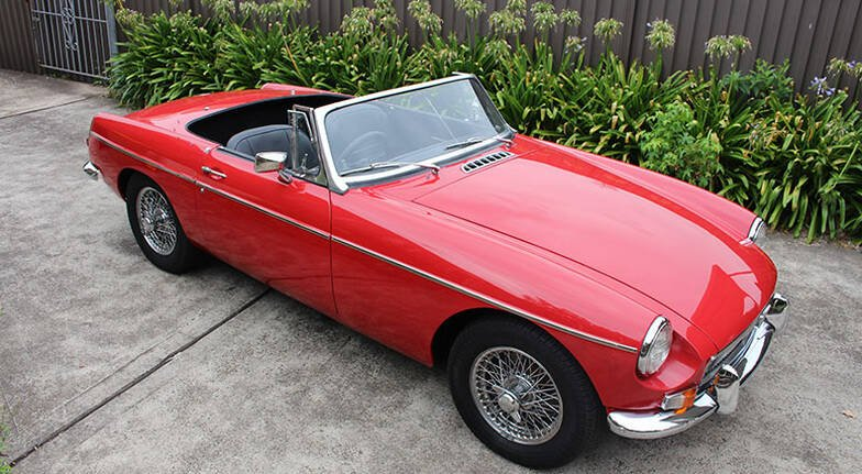 1969 MGB Roadster Full Day Hire - Sydney