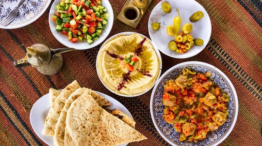 Middle Eastern BBQ Cooking Class