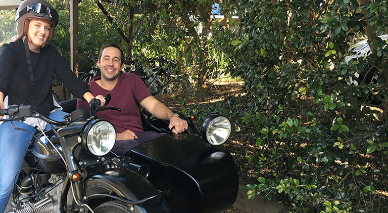 3 Hour Motorbike Side Car Tour with Lunch - For 2