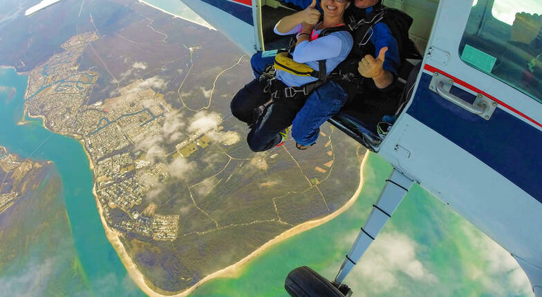 Skydive Over Bribie Island - Up To 15,000ft - Weekend