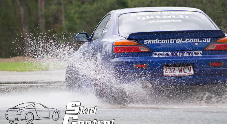 Skid Pan Driving Lesson with Car Hire - Weekend Only