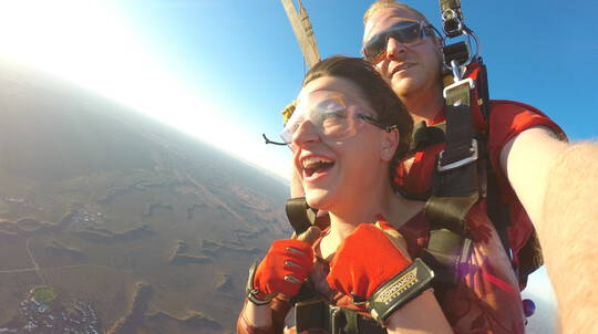Uluru Sunset Tandem Skydive - 12,000ft - For 2