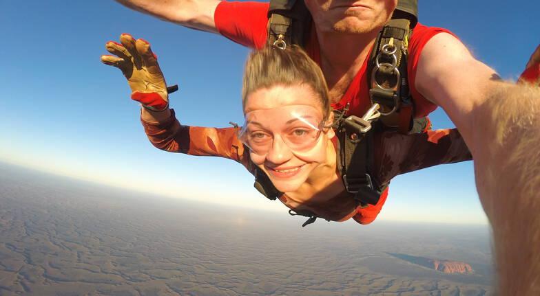 Uluru Sunset Tandem Skydive - 12,000ft - For 2