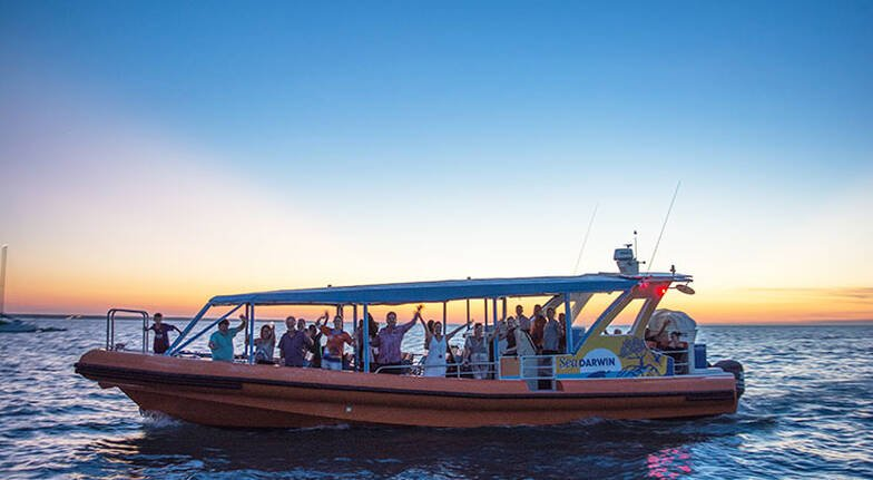 Darwin Harbour Fish and Chips Sunset Cruise - 1.5 Hours