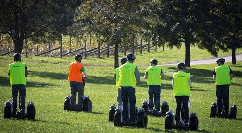 Yarra Valley Rochford Wines Segway Tour with Lunch - For 2