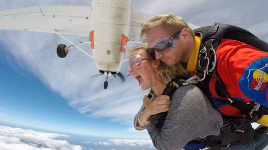 Up To 12,000ft Tandem Skydive Over South East Melbourne