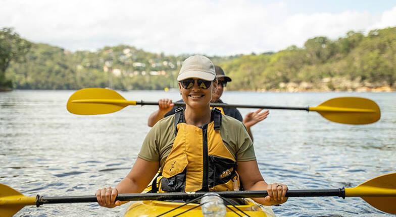 Sydney Harbour Kayak Eco Tour with Morning Tea