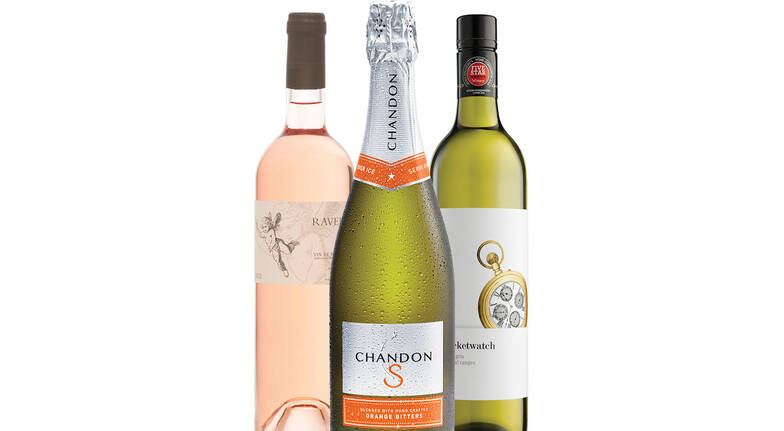 Summer Wine Trio with Chandon, Rosé and Pinot Gris