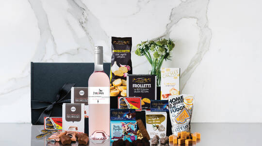 Provence Rosé and Chocolates Gift Box