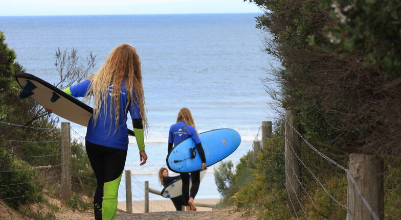 Great Ocean Road Surf Tour with Two Lessons and Lunch