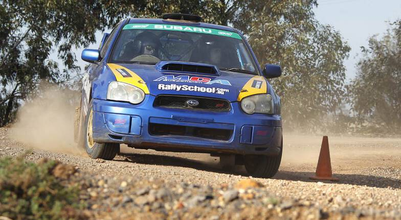 Rally Drive with Hot Lap Experience - 13 Laps - Brisbane
