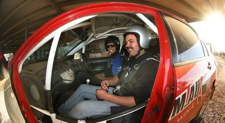 Rally Drive with Hot Lap Experience - 9 Laps - Melbourne
