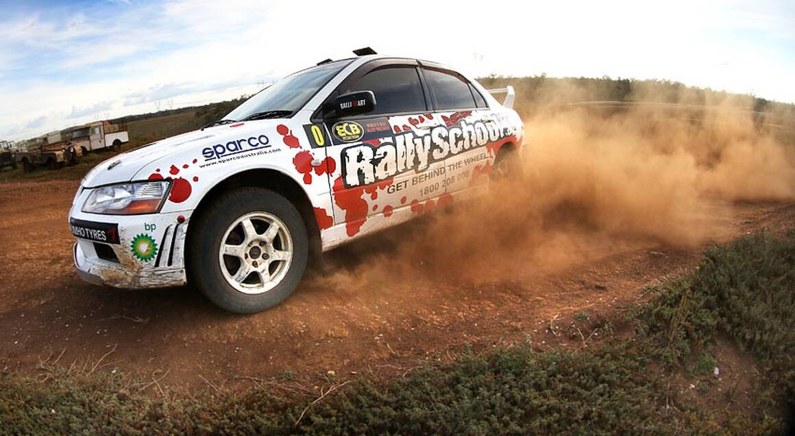Rally Drive 2 Cars with Hot Lap - 17 Laps - Sydney