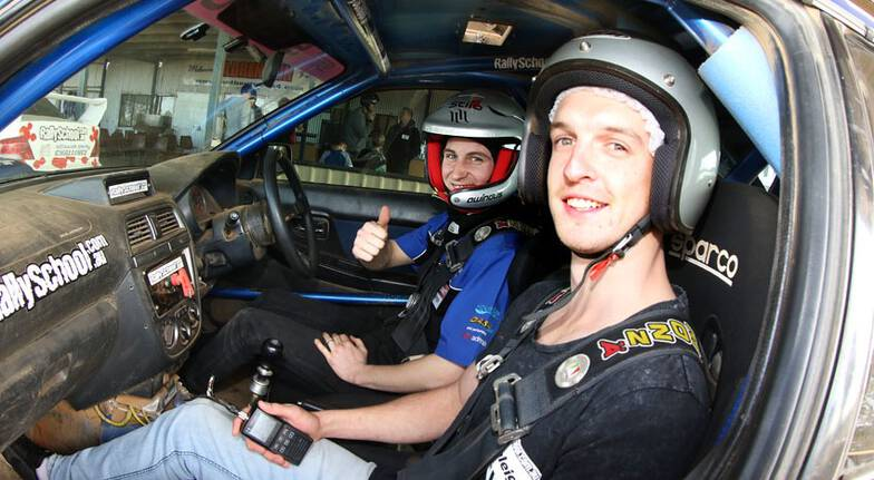 Rally Drive 2 Cars with Hot Lap - 17 Laps - Brisbane