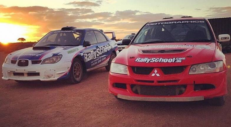 Rally Drive 2 Cars with Hot Lap - 17 Laps - Perth