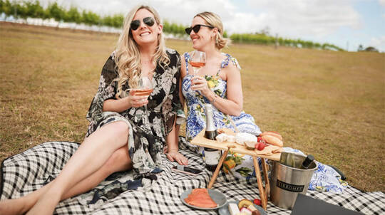 Premium Winery Picnic Hamper Lunch - For 2