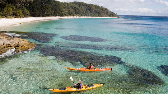 Jervis Bay Guided Sea Kayak Tour with Morning Tea - 5 Hours