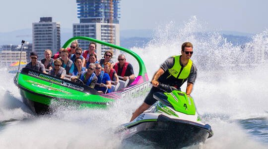 Jet Boat Ride and Jet Ski Hire - For 2