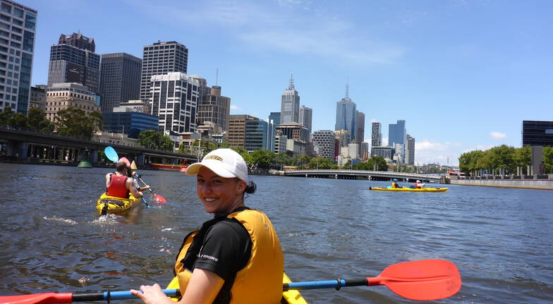 Melbourne City Sea Kayak Tour - Half Day