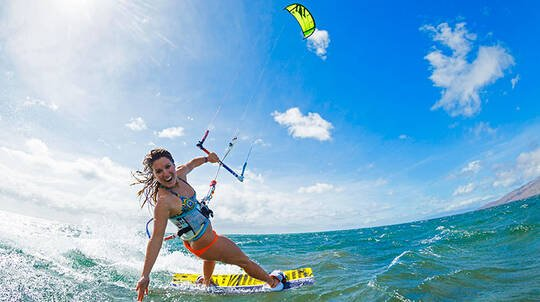 Full Day Private Kiteboarding Lesson with $500 Voucher