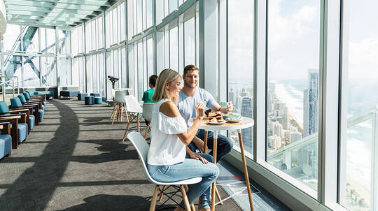 SkyPoint Observation Deck and Dine Experience