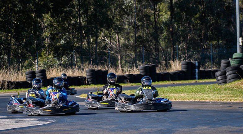 13HP Karting Experience at Eastern Creek  30 Minutes
