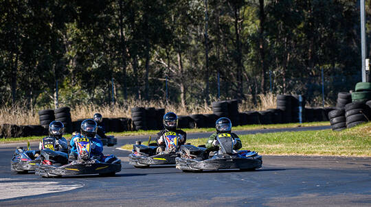 6HP Karting Experience at Eastern Creek For Kids- 30 Minutes