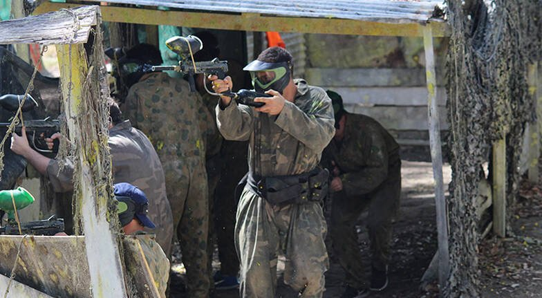 Paintball Experience  100 Paintballs  Sunshine Coast