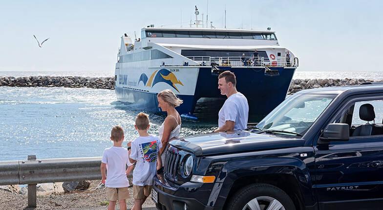 1 Night Kangaroo Island Studio Stay with Ferry Transfers