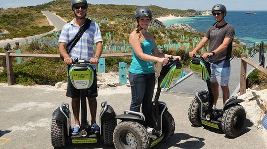 Rottnest Island Guided Settlement Segway Tour - Fremantle