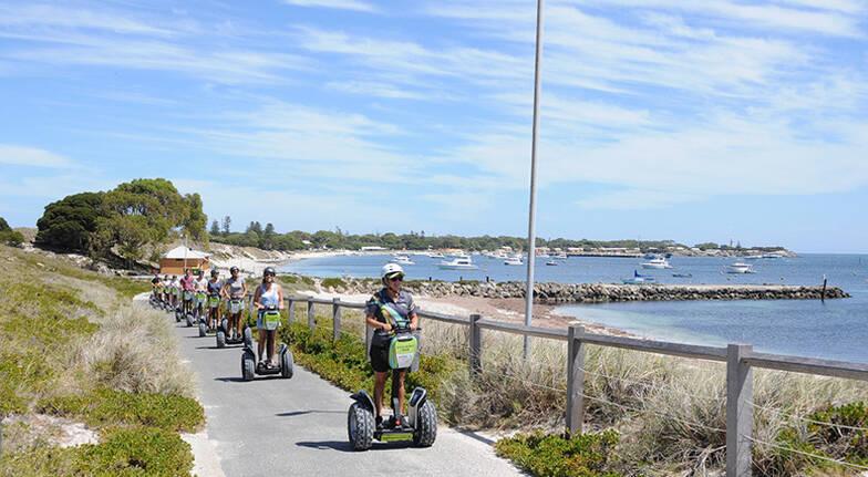 Rottnest Island Guided Settlement Segway Tour - Fremantle