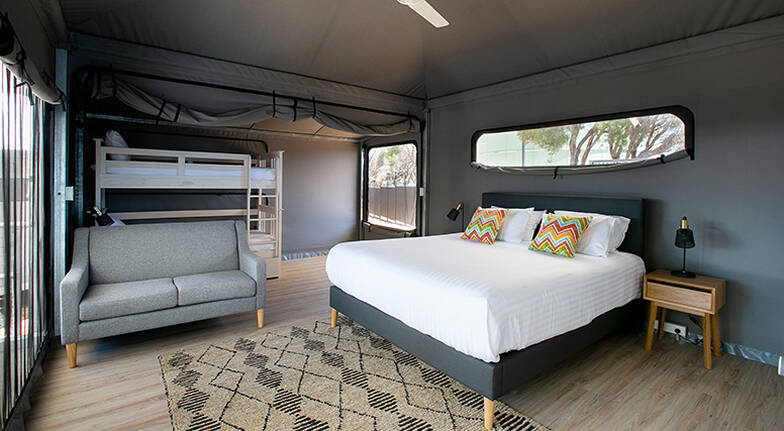 1 Night Rottnest Island Superior Glamping Stay  For 2