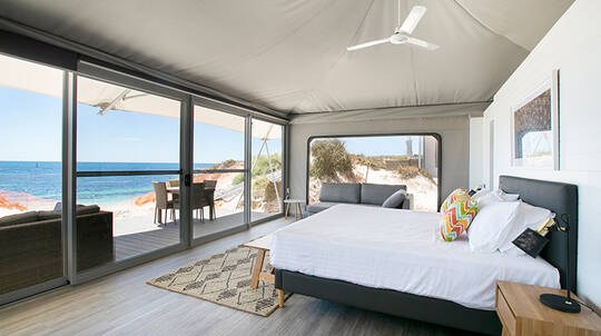 1 Night Rottnest Island Deluxe Glamping Stay - For 2