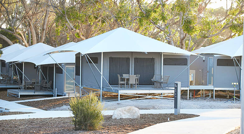 Overnight Rottnest Island Deluxe Glamping Stay  For 2