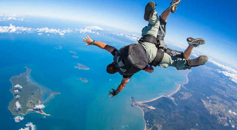 Skydive Over Mission Beach - Up To 15,000ft
