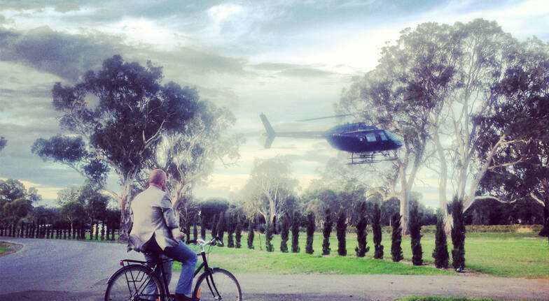 Luxury Vineyard Escape with Heli Flight and Dinner - For 2