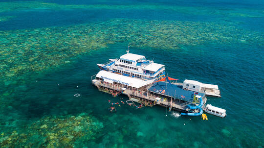 Great Barrier Reef Cruise with Lunch and Snorkelling- Family