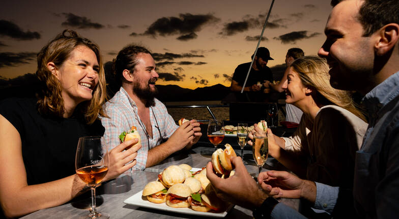 Cairns Harbour Cruise with Dinner - 2.5 Hours