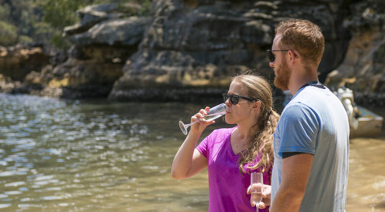 Wine and Oyster Kayak Tour - Central Coast