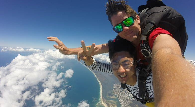15,000ft Tandem Skydive with Beach Landing - Caloundra